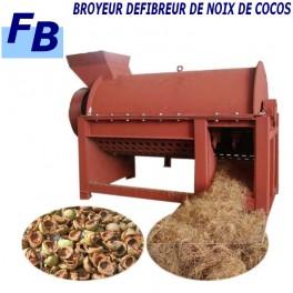 BROYEUR DE FIBRES DE COCO