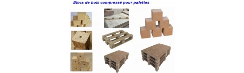 FABRICATION DE BLOCS EN BOIS COMPRESSE